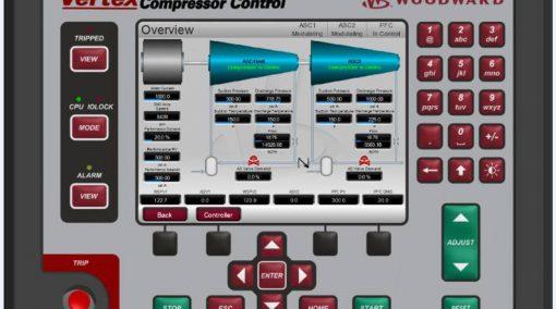 Woodward Vertex Compressor Control