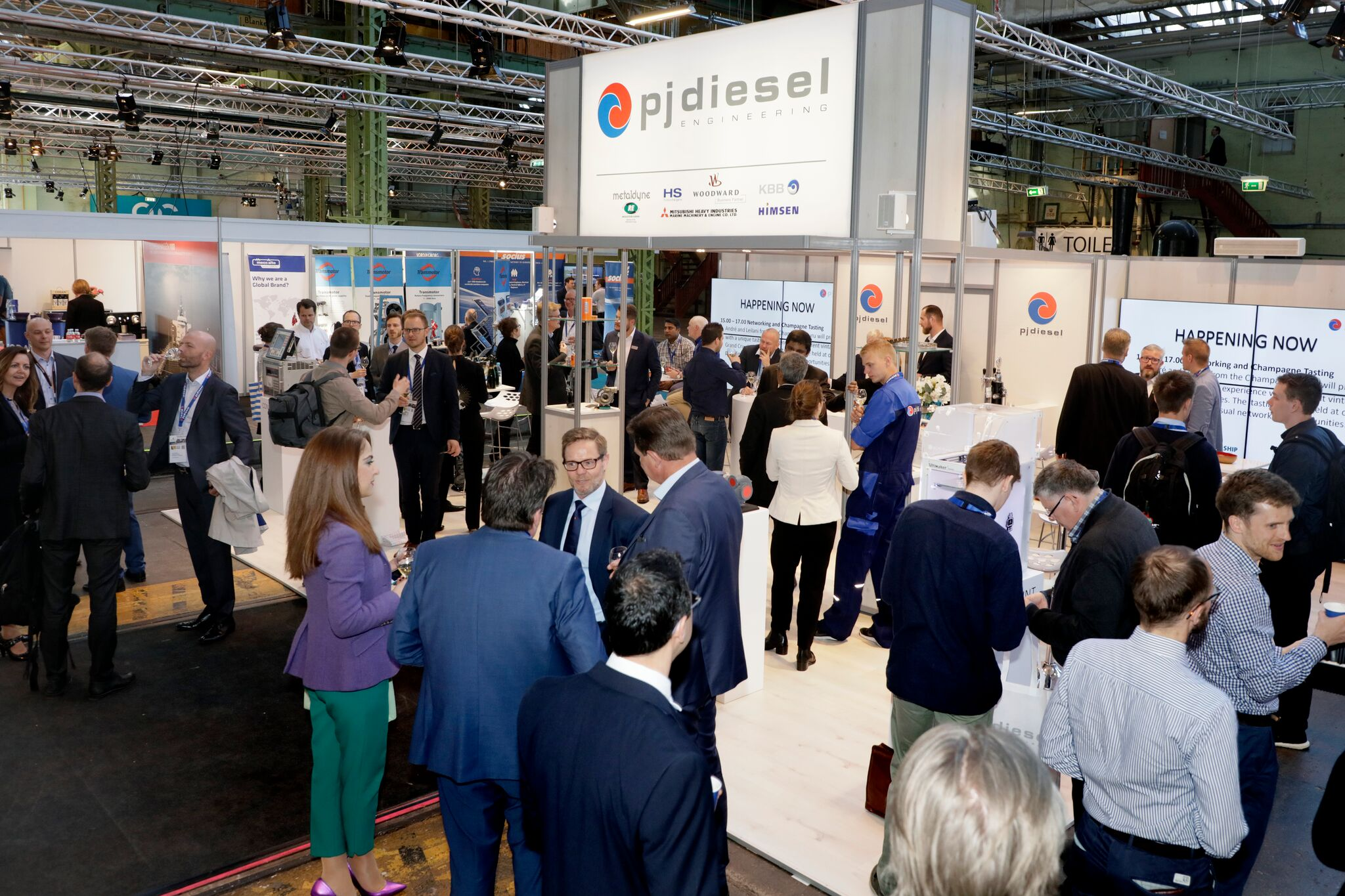 Great attendance for PJ Diesel at Danish Maritime Days (DMD)