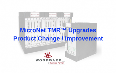 Upgrade release – Woodward MicroNet TMR Upgrade