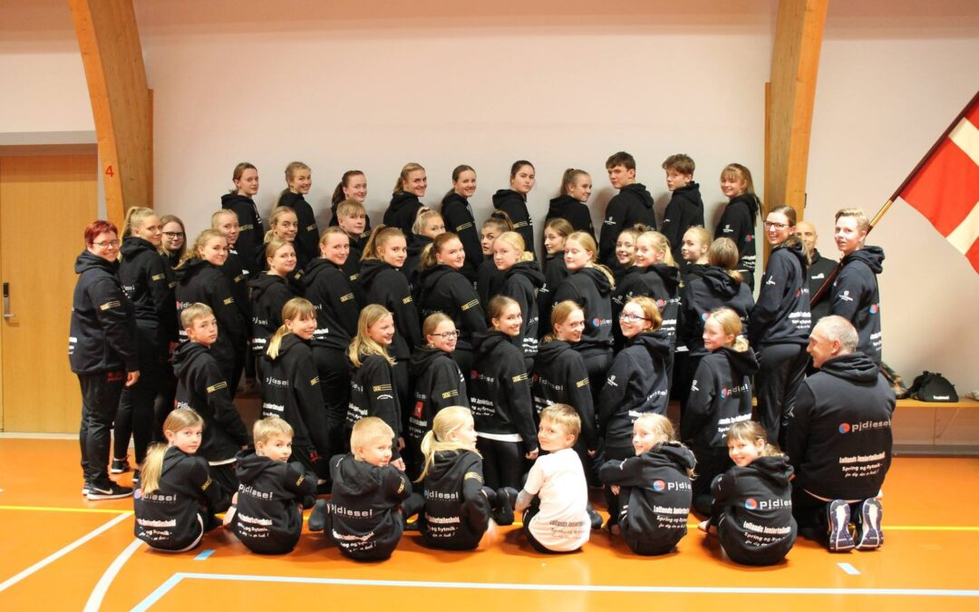Lollands Junior Fælleshold sponsored by PJ Diesel
