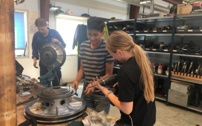 PJ Diesel Engineering A/S welcomes work experience students from Kratbjergskolen, Engholm