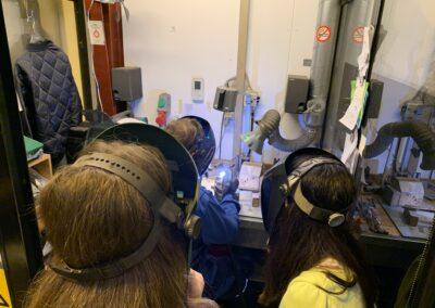 Frederiksberg erhvervsforum, PJ Diesel Engineering, Søndermarkskolen 7. klasse, fokus på erhvervsuddannelser, focus on vocational educations